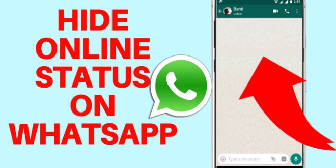 How To Hide Online Status On Whatsapp - appssession - Technology Can