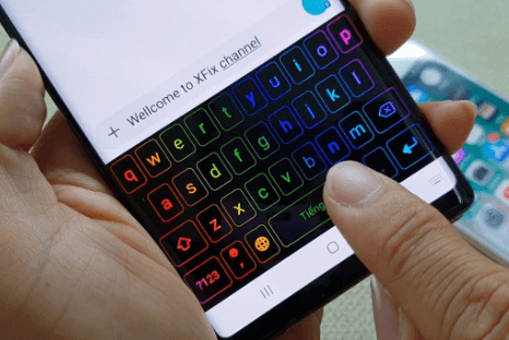 How to Set LED Keyboard on Android Phone