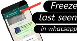 How to Hide Last Seen Status on Your Whatsapp & Freeze Whatsapp Last Seen